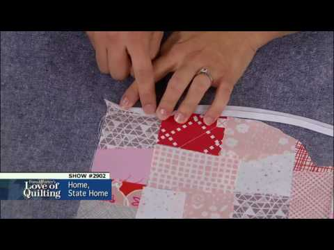 Love of Quilting Preview: Creating a State Quilt (Episode 2902 – Home, State Home)