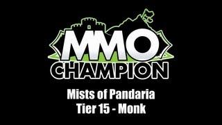 Tier 15 - Monk Armor Set