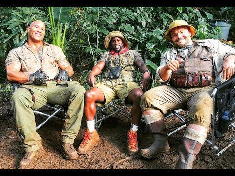 JUMANJI: WELCOME TO THE JUNGLE || BEHIND THE SCENES.