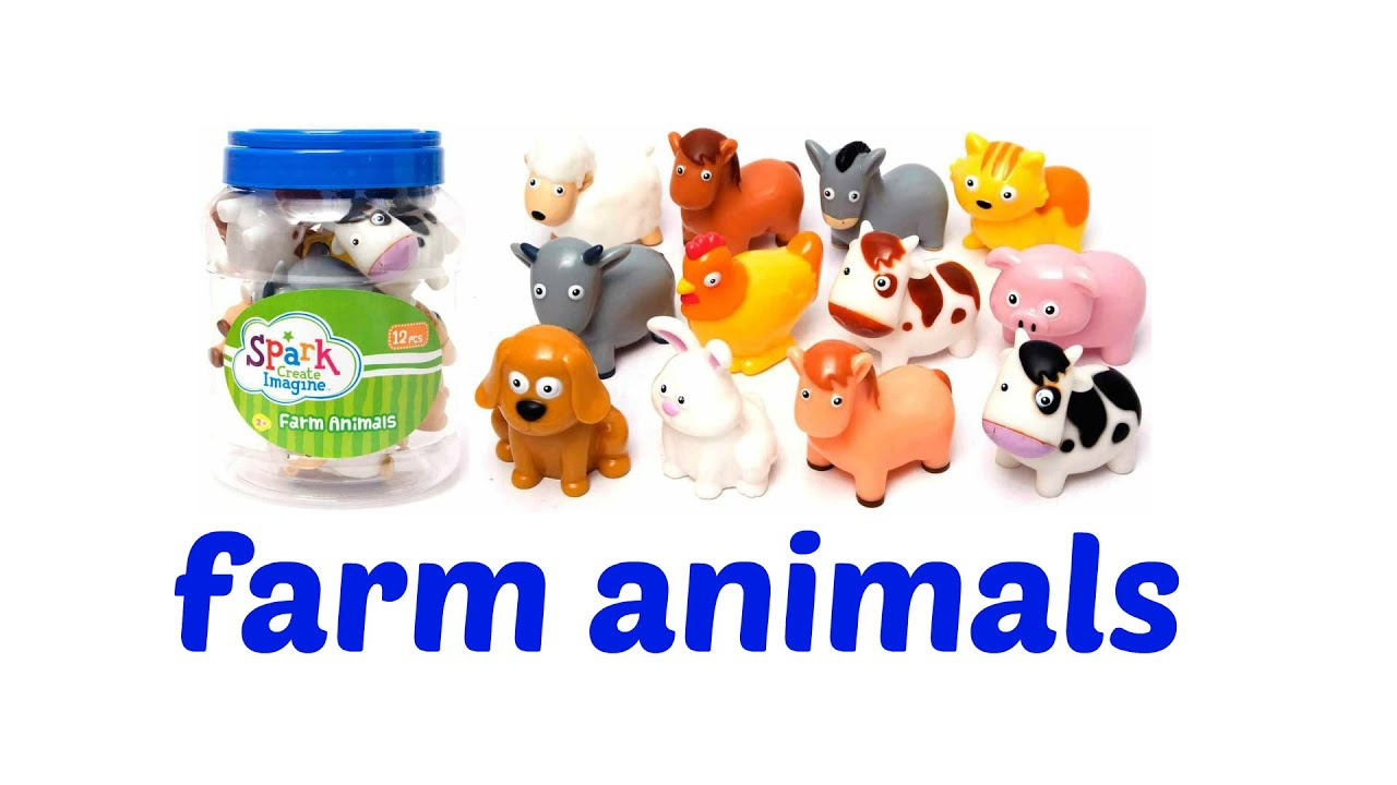 Spark create imagine farm animals 12pcs youtube for Too cool fishing
