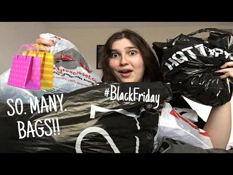 Black Friday Haul! Rue21, Target, Hot Topic, Etc.