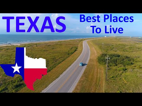 Top 10 Best Places To Live In Texas In 2020 - Texas In Videos