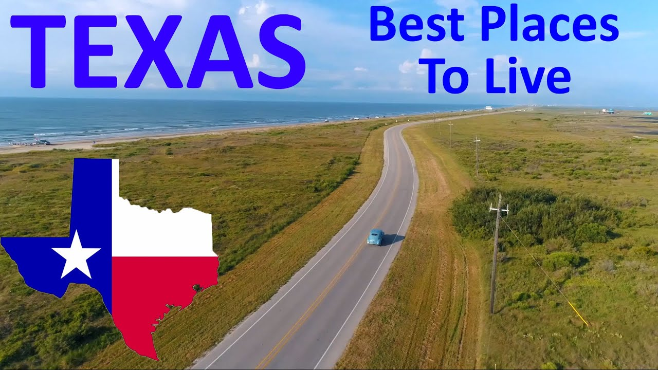Download Top 10 Best Places To Live In Texas - Job, Retire, & Family