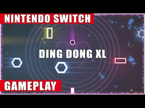 Ding Dong XL Nintendo Switch Gameplay