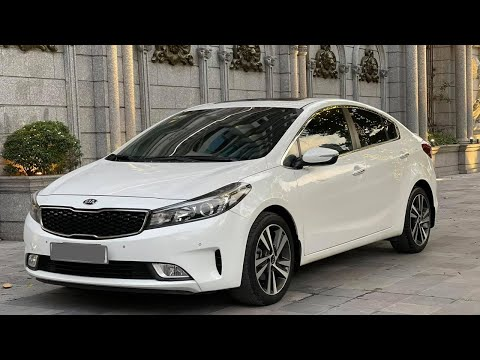Bán xe ô tô cũ Kia Cerato 1.6AT sx 2017 trắng chạy 45.000km
