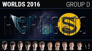 Samsung Galaxy vs Splyce Highlights, S6 World Championship 2016 Group C Day 1, SSG vs SPY