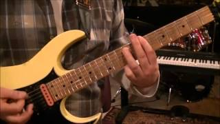 How to play Honky Tonk Man by Dwight Yoakam on guitar by Mike Gross