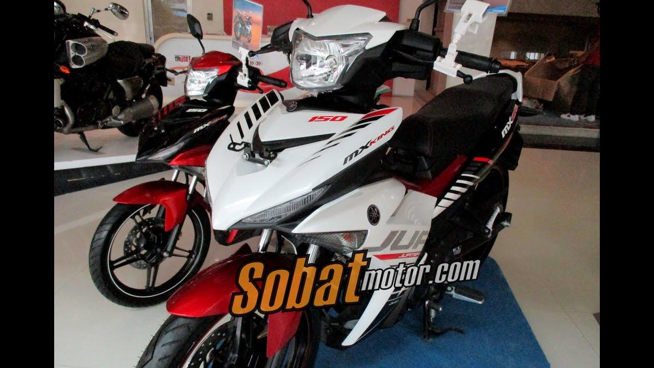 Yamaha Jupiter Mx King 150 Putih Speedy White Sobatmotor Com Youtube