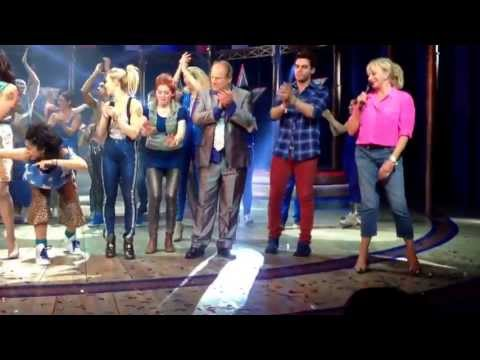 Spice Girls Viva Forever musical closing night June 29th 2013 with Emma Bunton Mel C and Judy Cramer