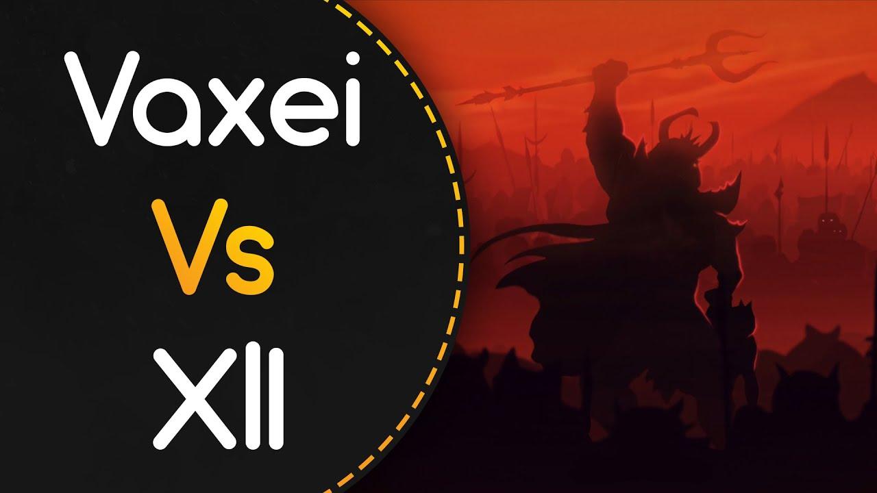 Vaxei vs XlI (RyuK)! // BLANKFIELD - Goodbye (Kyubey) [Intense]