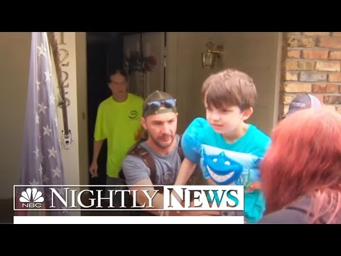 Louisiana Flooding Emergency: At Least 7 Dead, 20,000 Rescued | NBC Nightly News