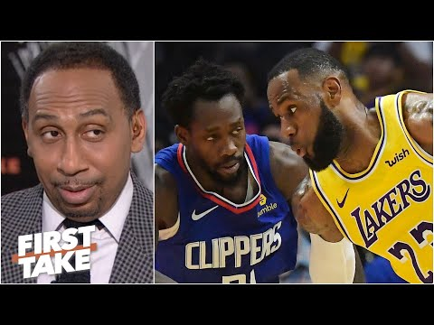 Stephen A. reacts to Patrick Beverley downplaying guarding LeBron   First Take