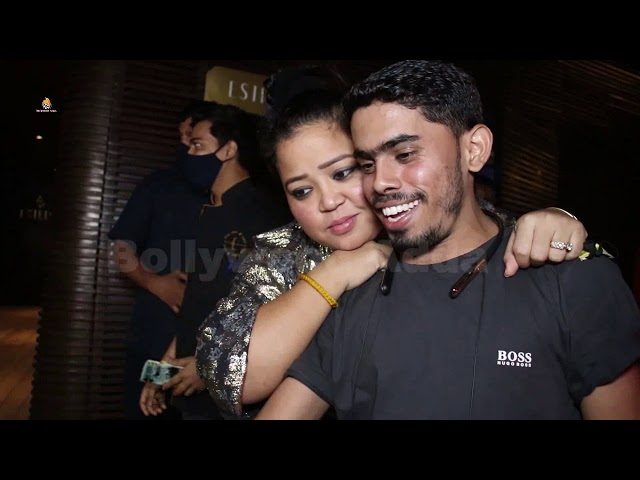 Jaismin Bhasin Bharti Singh Snapped In Juhu For Dinner Party