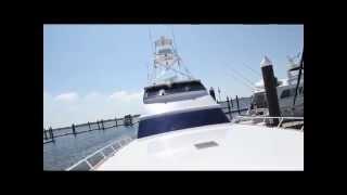 2001 80 Donzi Enclosed Bridge Yacht for Sale