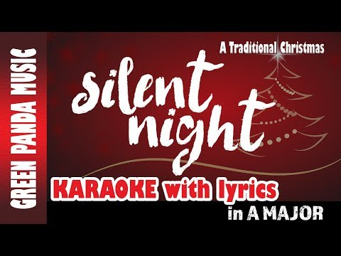Silent Night - Karaoke/Backing Track - Taken from The Traditional Christmas Carols CD