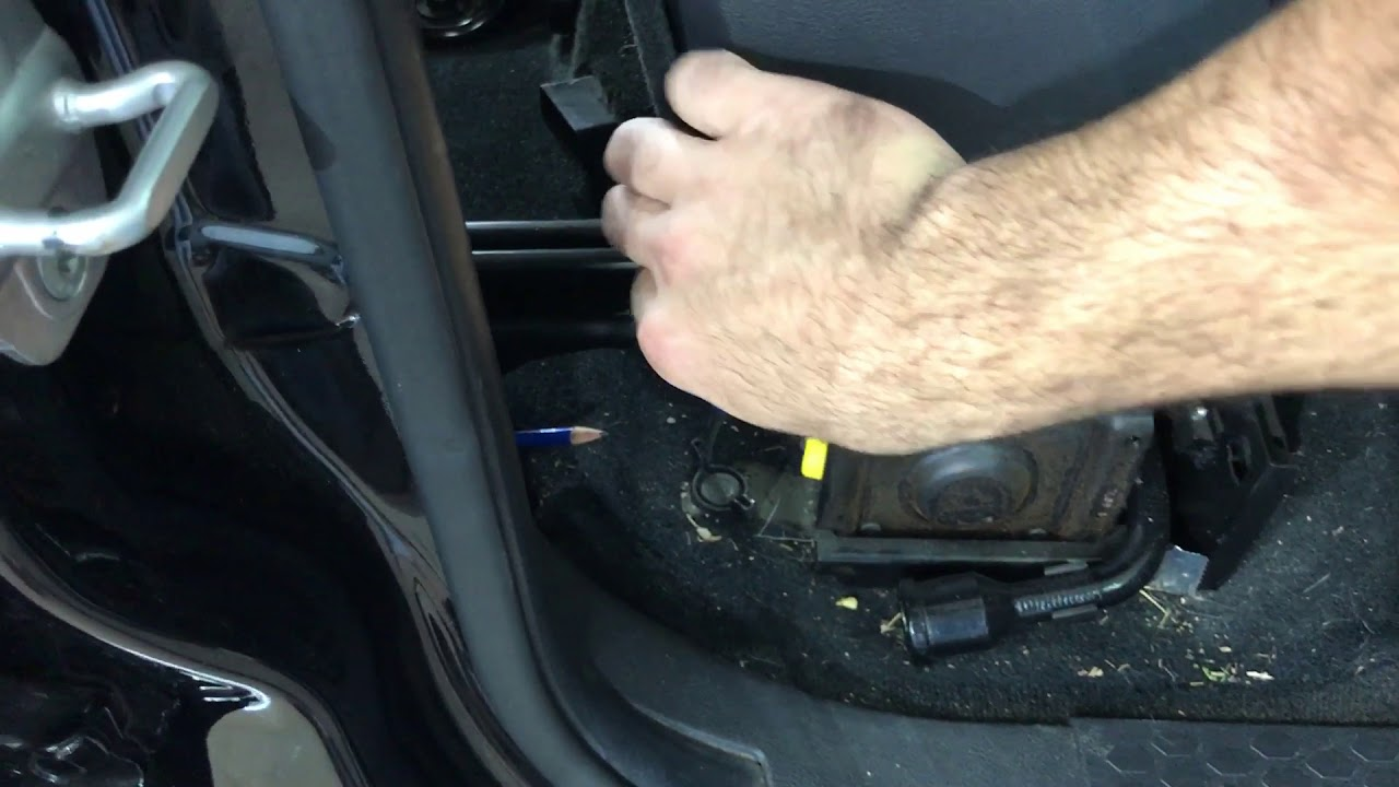 Dodge Ram Spare Tire Tool Removal - YouTube