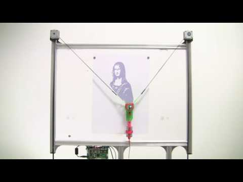 How to make an OpenSource Vertical Plotter - YouTube
