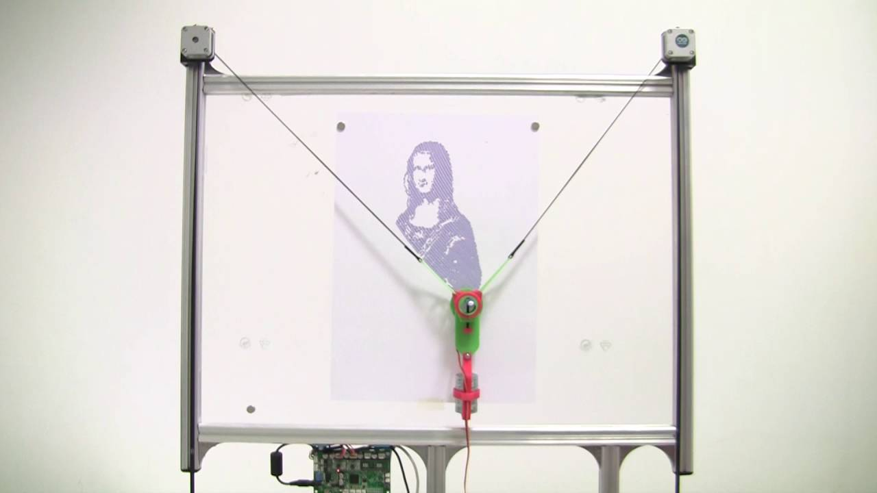 How to make an OpenSource Vertical Plotter