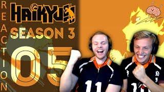 SOS Bros React - Haikyuu Season 3 Episode 5 - Tsukki's Incredible Defense!!