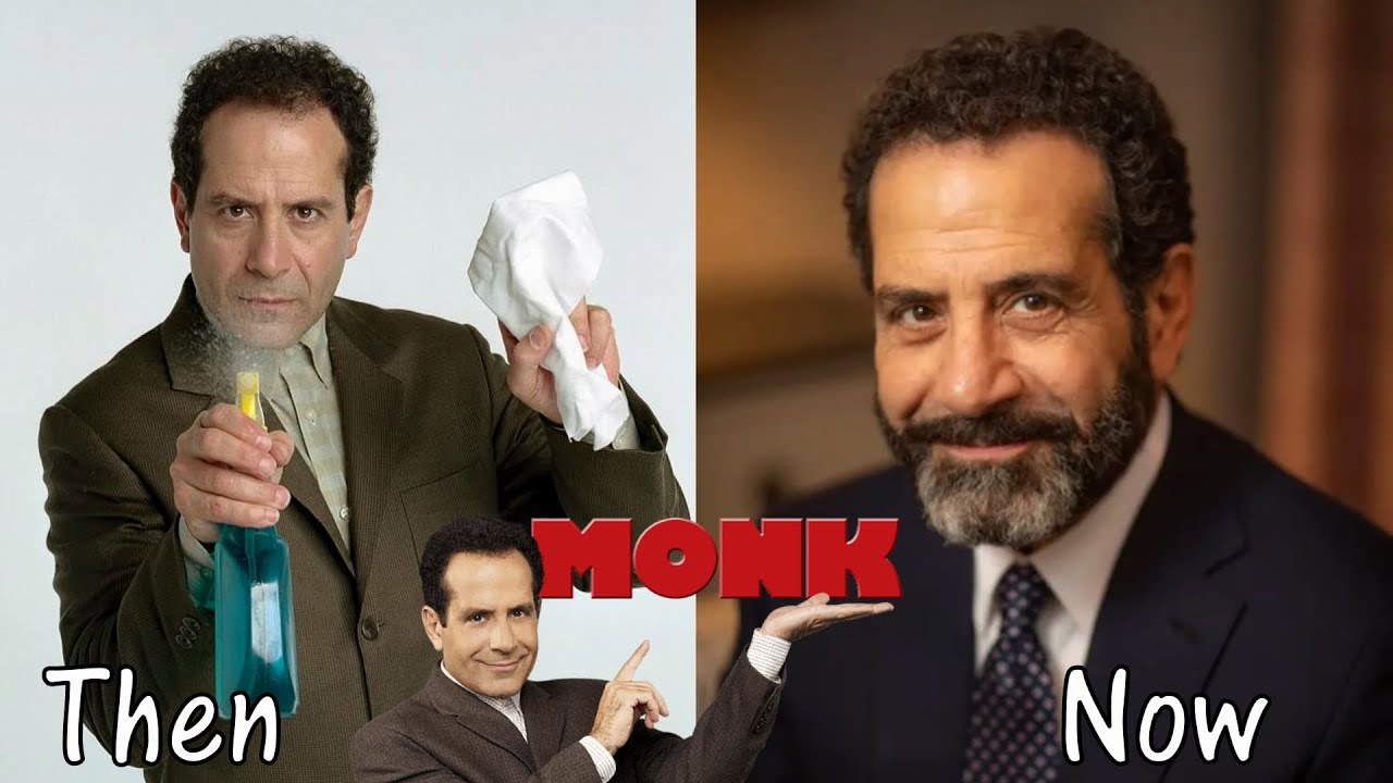 Download Monk Cast 🔸 Then and Now