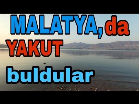 MALATYA'DA #YAKUT BULDULAR!