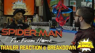 Spiderman Far From Home Trailer Breakdown + What's Next For The MCU?