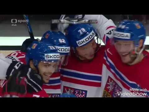 Šance a GÓLY | Hokej Francie-Česko MS17