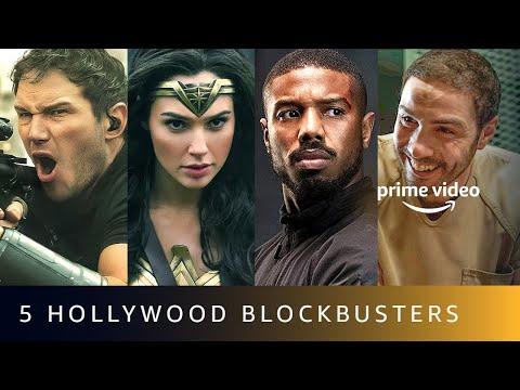 5 Latest Hollywood Blockbusters   Amazon Prime Video