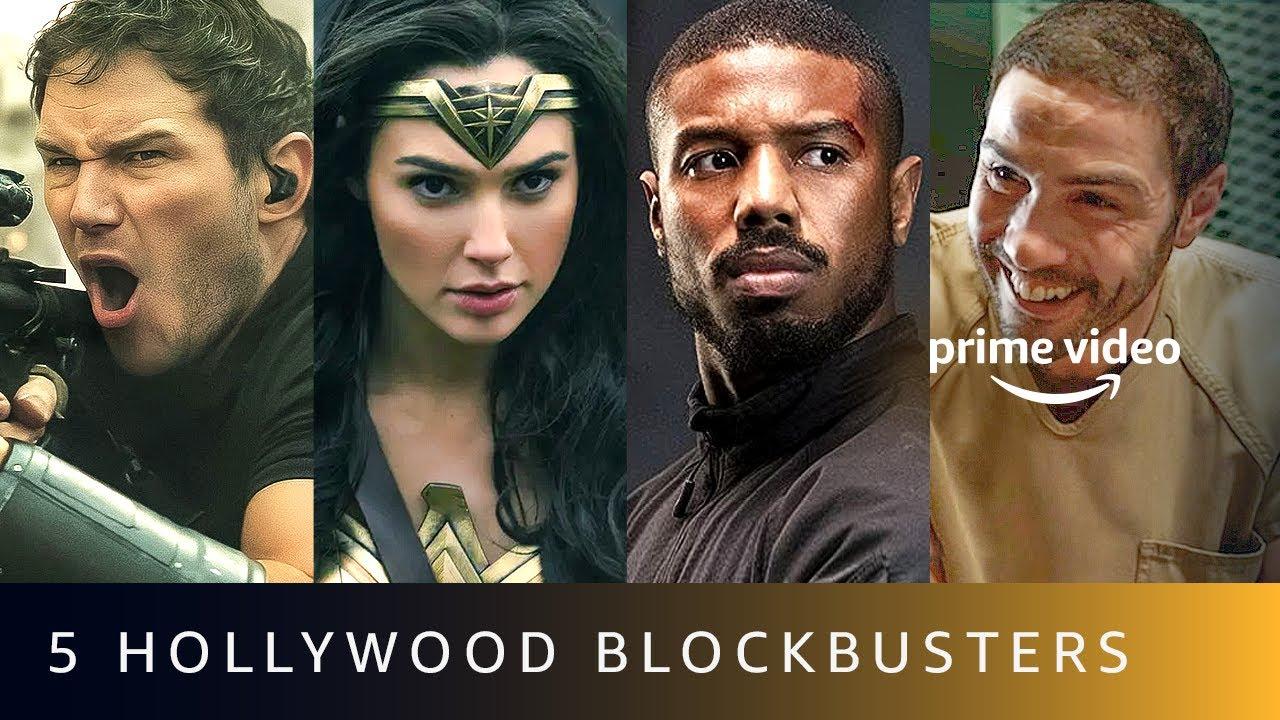 5 Latest Hollywood Blockbusters | Amazon Prime Video