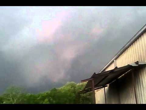 April 15th 2011 Tornado forming Jackson,MS