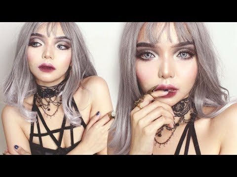 Gothic Doll Inspired Makeup Tutorial :*✧