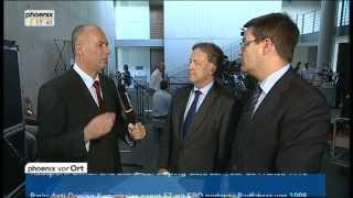 """""""Euro-Hawk""""-Affäre: Statements zum  Untersuchungsausschuss am 24.07.2013"""