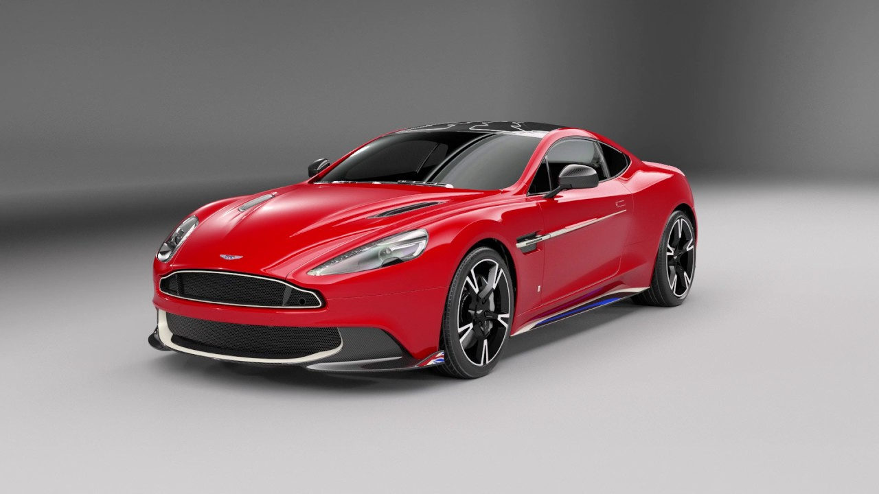 Aston Martin Vanquish S Red Arrows 360 Tour Youtube