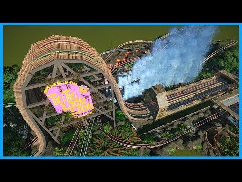 Tiki Tiki Zoom Zoom! Coaster Spotlight 495  Contest Entry #PlanetCoaster