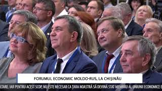 Forumul economic moldo-rus, la Chișinău