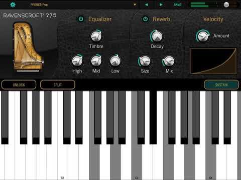 Ravenscroft 275 Piano iOS - All Playing, No Talking
