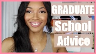 GRADUATE SCHOOL ADVICE| Brittany Daniel