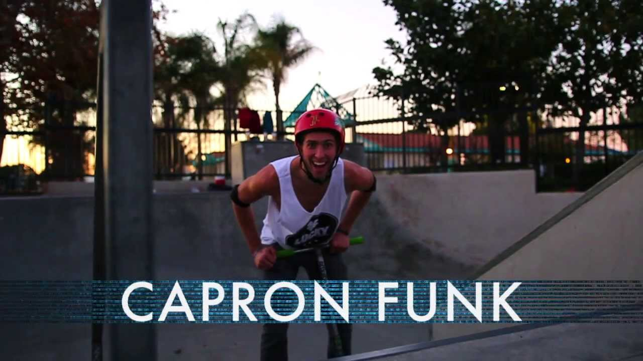 Lucky Scooters Capron Funk Day Edit Youtube