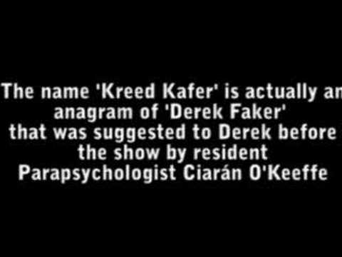 Derek Acorah - Kreed Kafer Maths