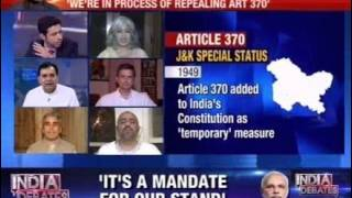 India Debates: Article 370 - Barrier or Bridge?