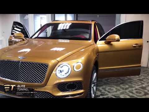 Индивидуальные механизмы для Bentley Bentayga