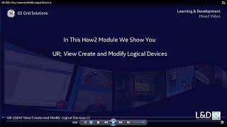 UR-1024 l لعرض وإنشاء وتعديل المنطقي الأجهزة v1