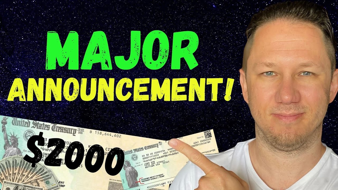 TODAY!! $2000 Third Stimulus Check Update + $200 EXTRA MONTHLY for SS, SSDI and MORE! - download from YouTube for free