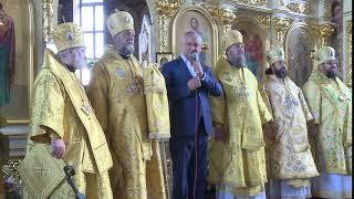 Sfanta Liturghie praznicala de la Biserica Sf. Nicolae din orasul Basarabeasca