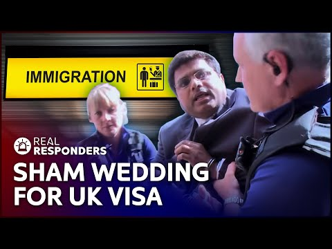 Scam Artist Deceives UK Woman To Gain Citizenship | UK Border Force | Real Responders