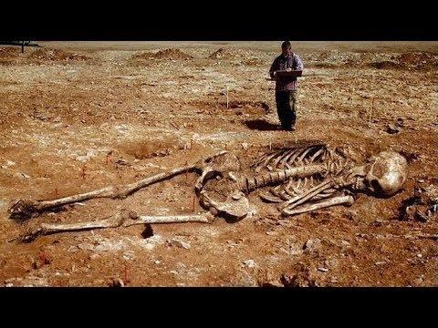 Riesenskelette Funde