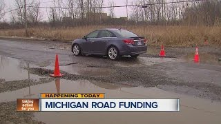 Will Michigan legislature deal with road funding?