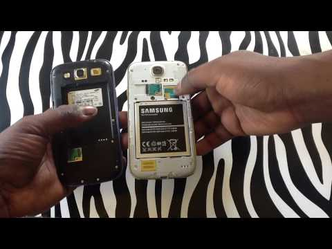 You Cannot Replace The SIM Card On Samsung Galaxy S3 (Sprint Issue)