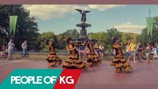 Кыргызский национальный танец в Нью Йорке | Kyrgyz National Dance in NYC