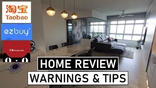淘宝 (Taobao) Home Tour - WARNINGS & Tips From Singapore